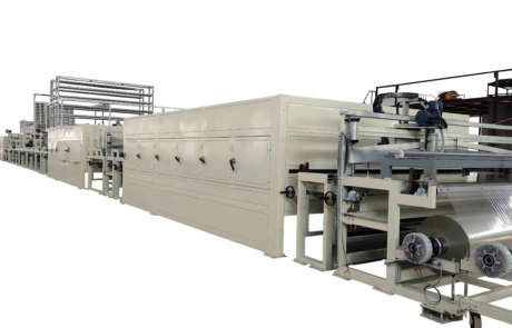 Automatic FRP panel making machine
