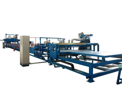 FRP rain gutter making machine
