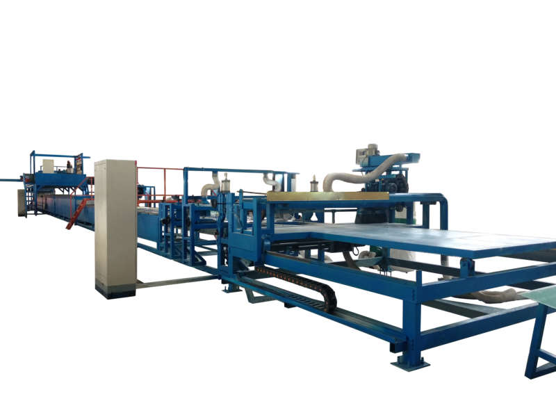 FRP rain gutter for roofing and construction production machine