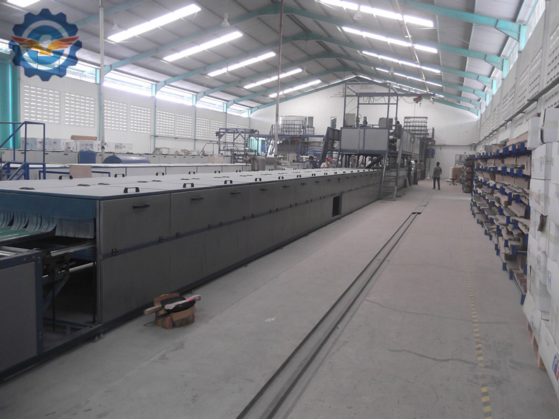 FRP-gel-coat-roofing-sheet-making-machine