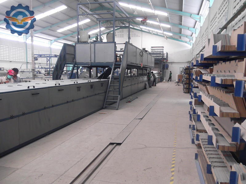FRP-gel-coat-roofing-sheet-production-line