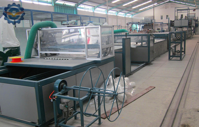 GRP-gel-coat-roofing-sheet-making-machine