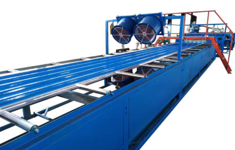 Automatic coated FRP sheets making machine