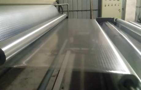 Pet Film embossing machine for FRP panel designs
