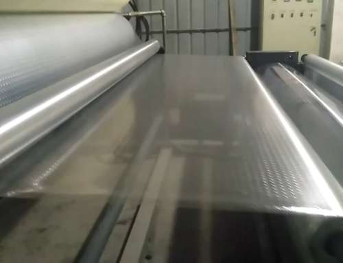 Film embossing machine