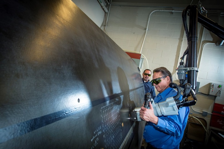 Us Air Force Introduces Composite Laser Adhesion