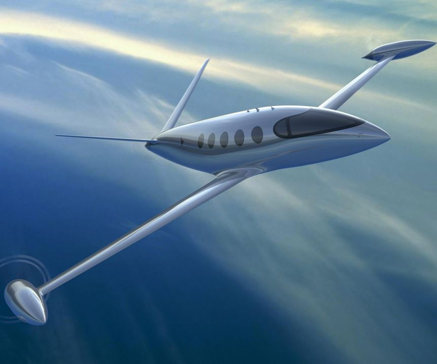 all-electric composite aircraft