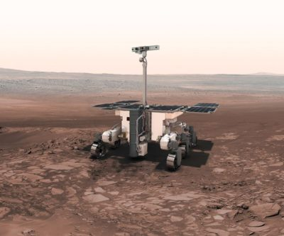 carbon fiber composite Mars rover chassis