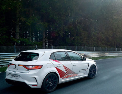 Renault introduces the Megane RS Trophy-R with carbon fiber wheels